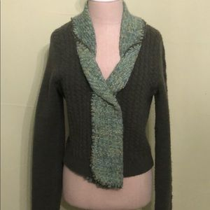 Anthropologie Mixed Knit Sweater